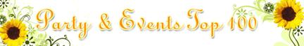 Top 100 Party & Event Specialties